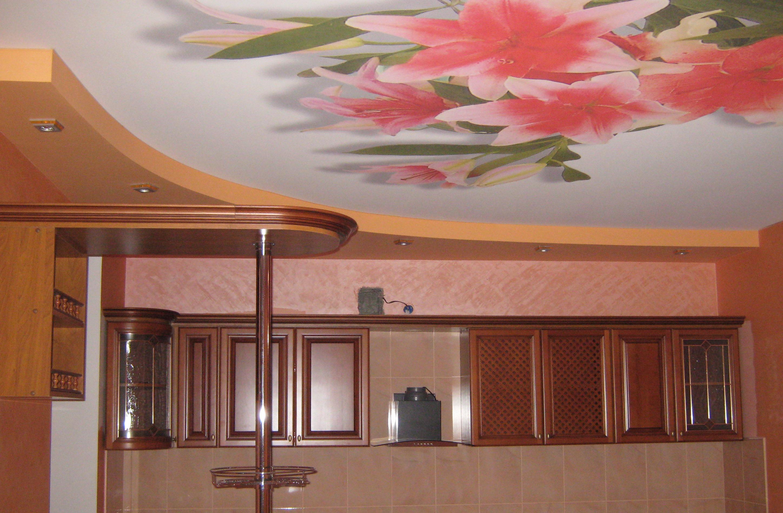 тенденции картинки потолки в кухне назначают целях